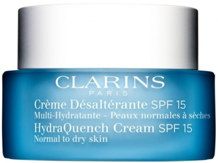 Clarins Clarins HydraQuench Cream SPF 15 Normal to Dry Skin 50ml