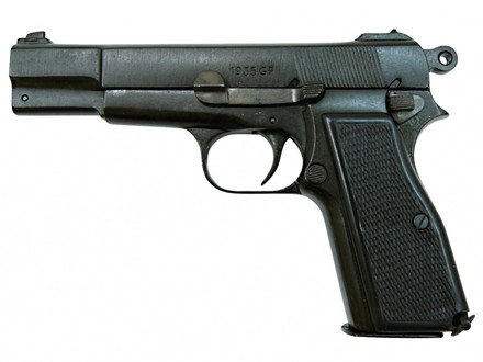 Denix Replika Pistole Browning HP35, Belgie 1935