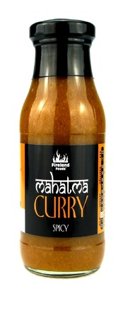 Fireland Foods Mahatma Curry Spicy, 250ml Stupeň pálivosti: 2/12