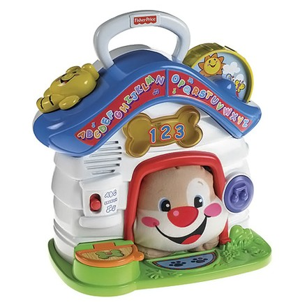 Fisher-Price Fisher-Price Pejskův mluvící domeček Fisher Price Směj se a Uč! CZE/AN
