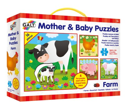 Galt Puzzle - Mother and Baby Farma