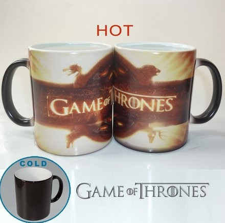 Game of Thrones Magický hrnek Brown