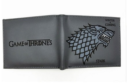 Game of Thrones Peněženka Hra o Trůny Stark Gray