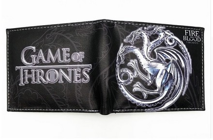 Game of Thrones Peněženka Hra o trůny Targaryen White