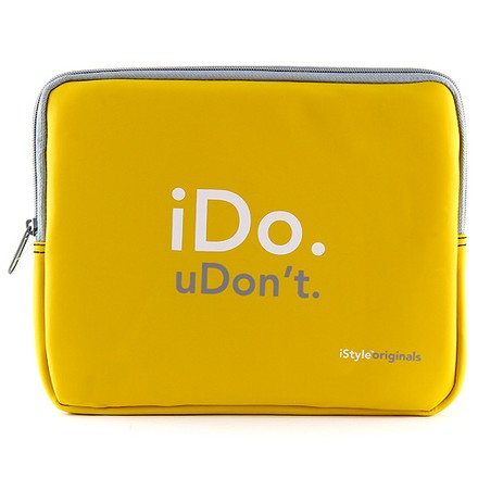 """GENERAL iStyle Originals Pouzdro na tablet 10.1"""" iDo. uDon´t."""