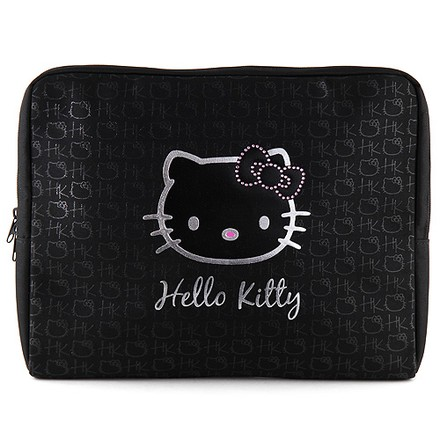 "Hello Kitty Pouzdro na laptop 15,4"" Hello Kitty černé"