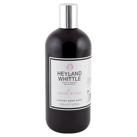 Heyland & Whittle Pěna do koupele Heyland & Whittle Neroli a růže, 500 ml