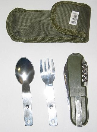 High Life Příbory Camping Cutlery Set