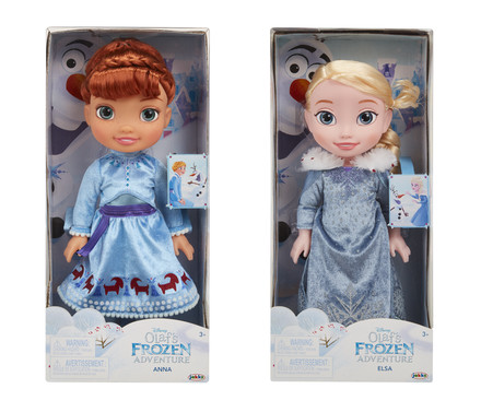 Jakks Pacific Frozen: Olaf´s Frozen Adventure Elsa and Anna Doll (2/4)
