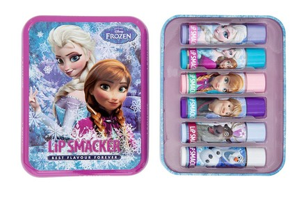 Lip Smacker Lip Smacker Disney Frozen Tin Box balzám na rty 6 ks
