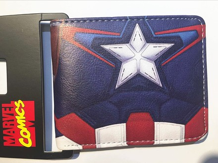 Marvel  Peněženka Captain Amerika Flag zip
