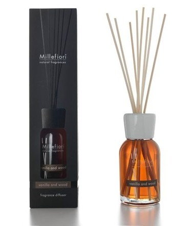 Millefiori Milano Natural Difuzér 250ml/Vanilla & Wood