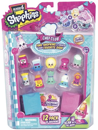 Moose Shopkins S6 - 12 pack (1/6)