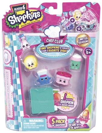 Moose Shopkins S6 - 5 pack (1/6)