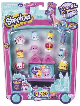 Moose Shopkins S8- 12 pack (1/6)