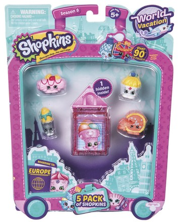 Moose Shopkins S8 - 5 pack (1/6)