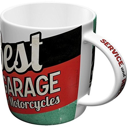 Nostalgic Art Hrnek-Best Garage for Motorcycles