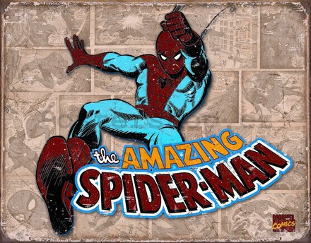 Nostalgic Art Plechová cedule - The Amazing Spiderman (2)