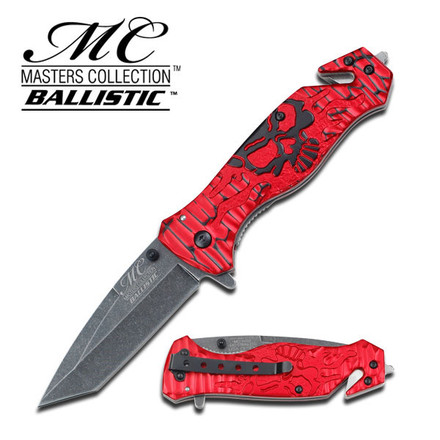 Master Cutlery MC-A007RB Spring Assisted Knife