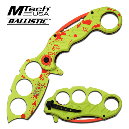 MTech M-Tech USA MT-A863GR SPRING ASSISTED KNIFE