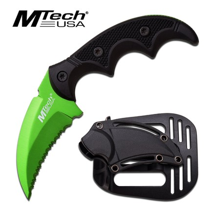 MTech MTech USA MT-20-63GN FIXED BLADE KNIFE