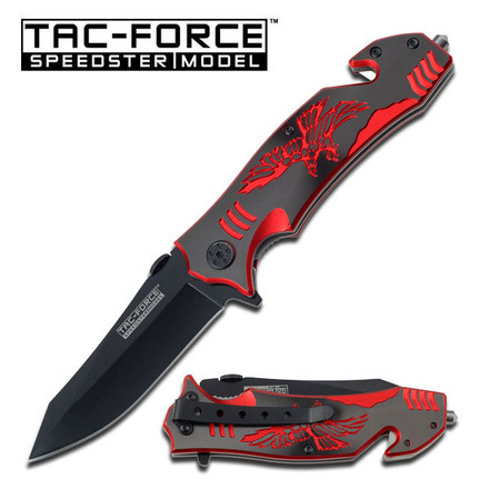 Tac-Force  TF-806BR SPRING ASSISTED KNIFE
