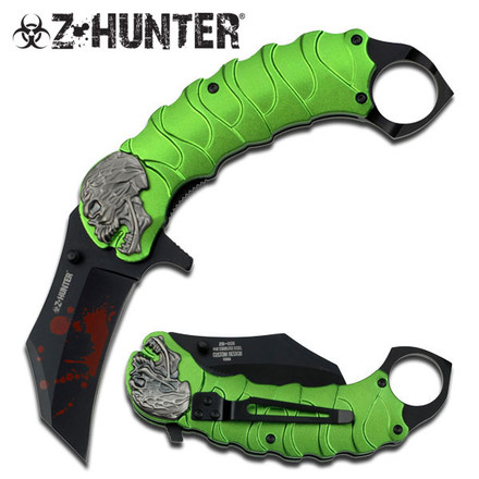 Z Hunter  Nůž  ZB-058GN SPRING ASSISTED KNIFE