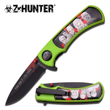 Z Hunter Z HUNTER ZB-118BG SPRING ASSISTED KNIFE