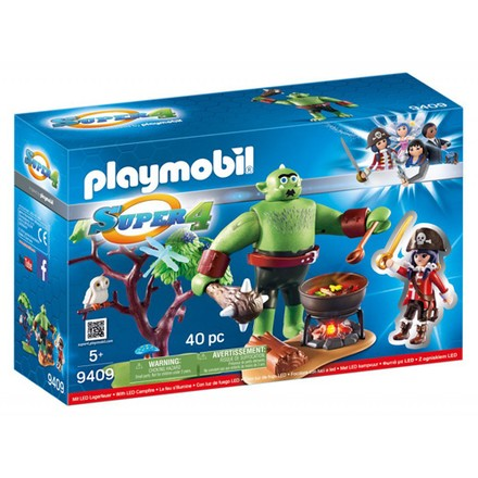 Playmobil Obr zlobr a Ruby Playmobil Super 4, 40 dílků
