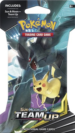 Pokémon Company POK: SM9 Team Up 1 Blister Booster (1/24)