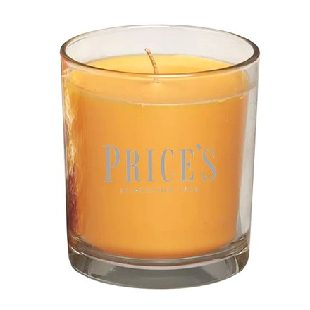 Price\'s Candles Price's Candles Scented candle in glass jar in cluster Amber