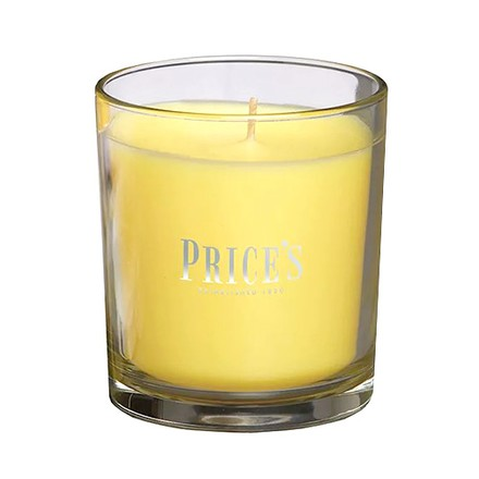 Price\'s Candles Price's Candles Scented candle in glass jar in cluster Frangipani