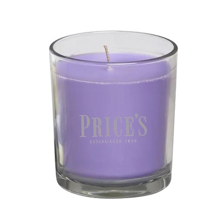 Price\'s Candles Price's Candles Scented candle in glass jar in cluster Lavender & Lemongrass