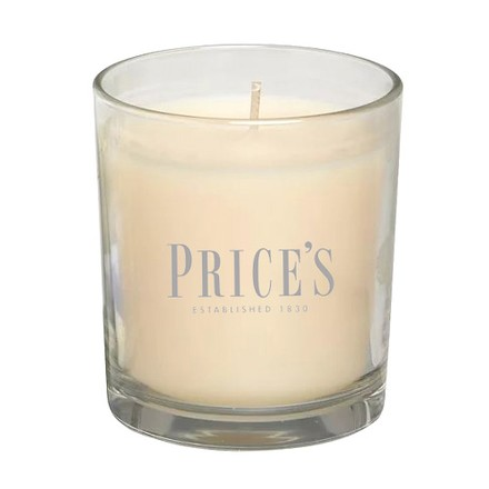 Price\'s Candles Price's Candles Scented candle in glass jar in cluster Sweet Vanilla