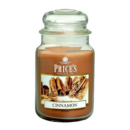 Price\'s Candles Price's Candles Svíčka ve skleněné dóze Price´s Candles Skořice, 630 g