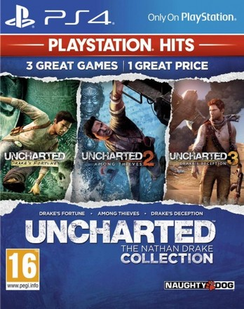 Sony PS4 Uncharted: The Nathan Drake Collection HITS