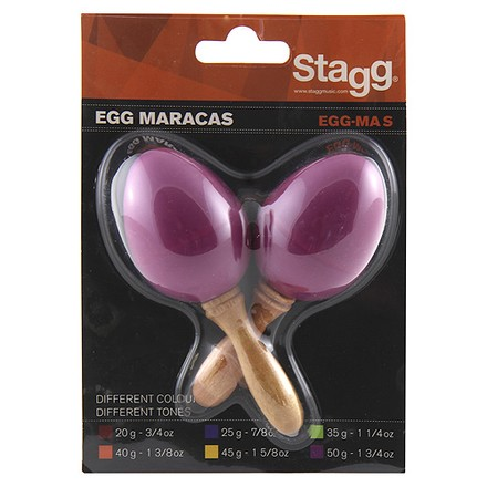 Stagg Maracas Stagg EGG-MAS/MG