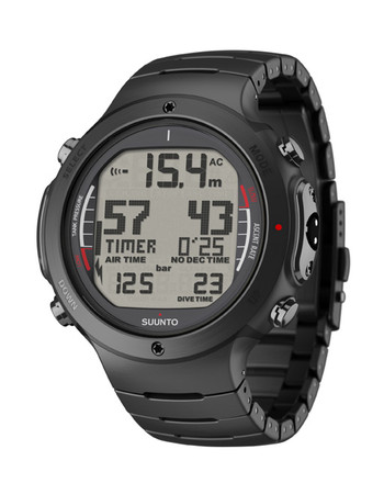Suunto D6i All Black Steel + USB