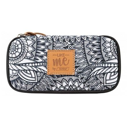 Target Target PENCIL CASE COMPACT COLLEGE LIKE ME GREY 26340