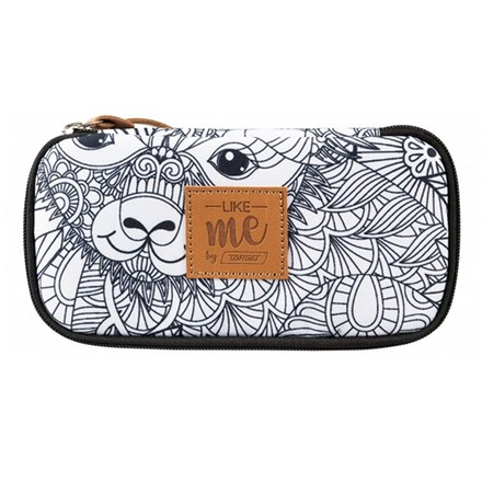 Target Target PENCIL CASE COMPACT COLLEGE LIKE ME WHITE 26339