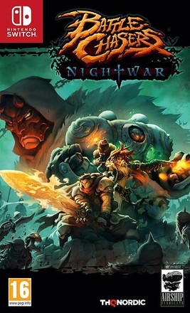 THQ Nordic SWITCH Battle Chasers: Nightwar