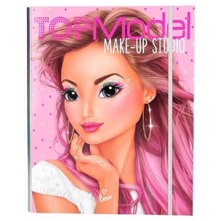 Top Model Omalovánky, kreativní sada Top Model Make-Up studio, s líčidly