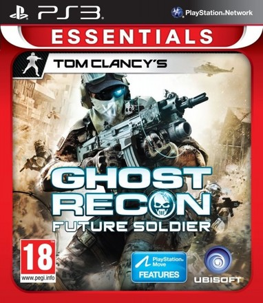 UbiSoft PS3 TC Ghost Recon Future Soldier Essentials