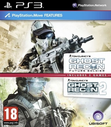 UbiSoft PS3 TC GR Future Soldier & GR Warfighter 2 Pack
