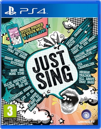 UbiSoft PS4 Just Sing