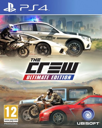 UbiSoft PS4 The Crew Ultimate Edition