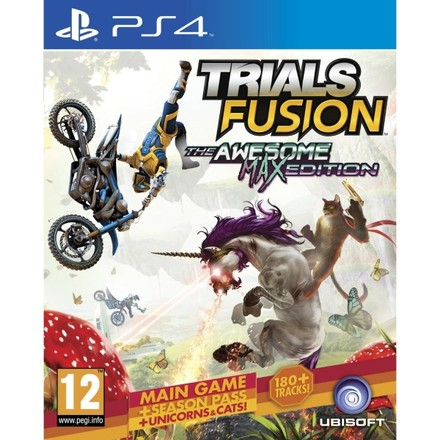 UbiSoft PS4 Trials Fusion (The Awesome Max Edition)