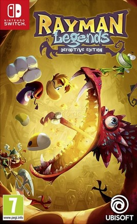 UbiSoft SWITCH Rayman Legends: Definitive Edition