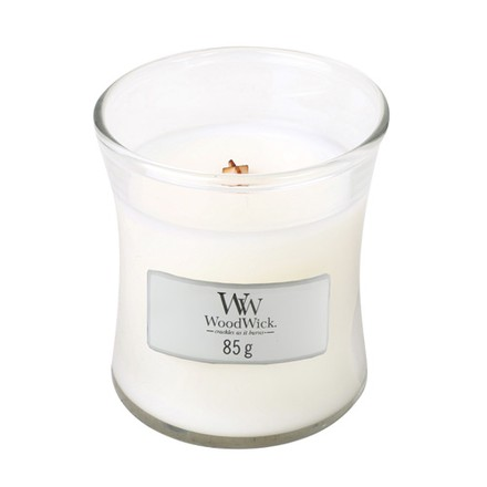 WoodWick WoodWick Mini candle | White Tea & Jasmine