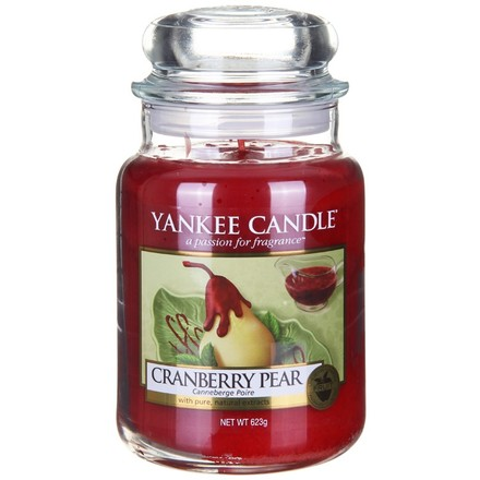 Yankee candle Cranberry Pear 623g
